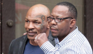 mike tyson. bobby brown
