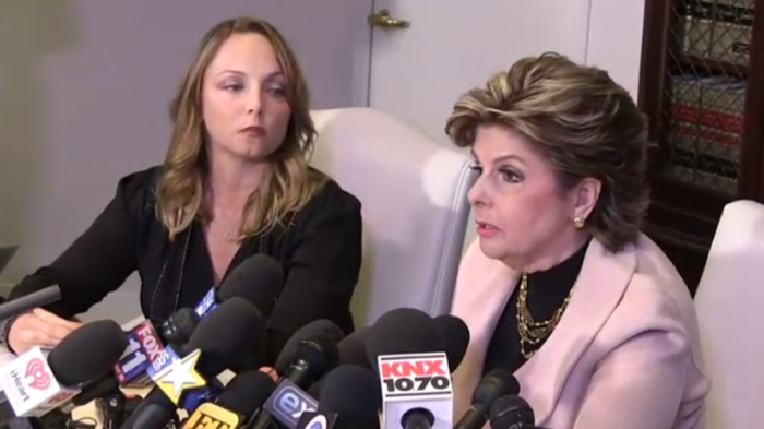 Louisette Geiss and Gloria Allred