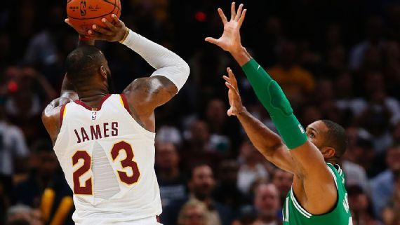 Sources told ESPN that executives with the shoe and apparel giant Nike were extensively reviewing why the back of LeBron James' jersey split down the middle in Tuesday night's game. Photo by Leah Klafczynski/Zuma Press/Icon Sportswire