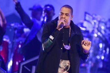 jay-z (on stage)