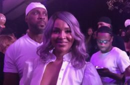 LisaRaye at her 50th b-day party