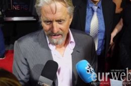 michael douglas - flatliners red carpet