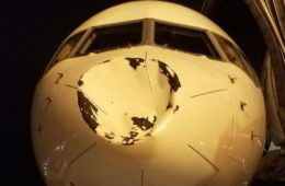 oklahoma city thunder plane after mid-air hit