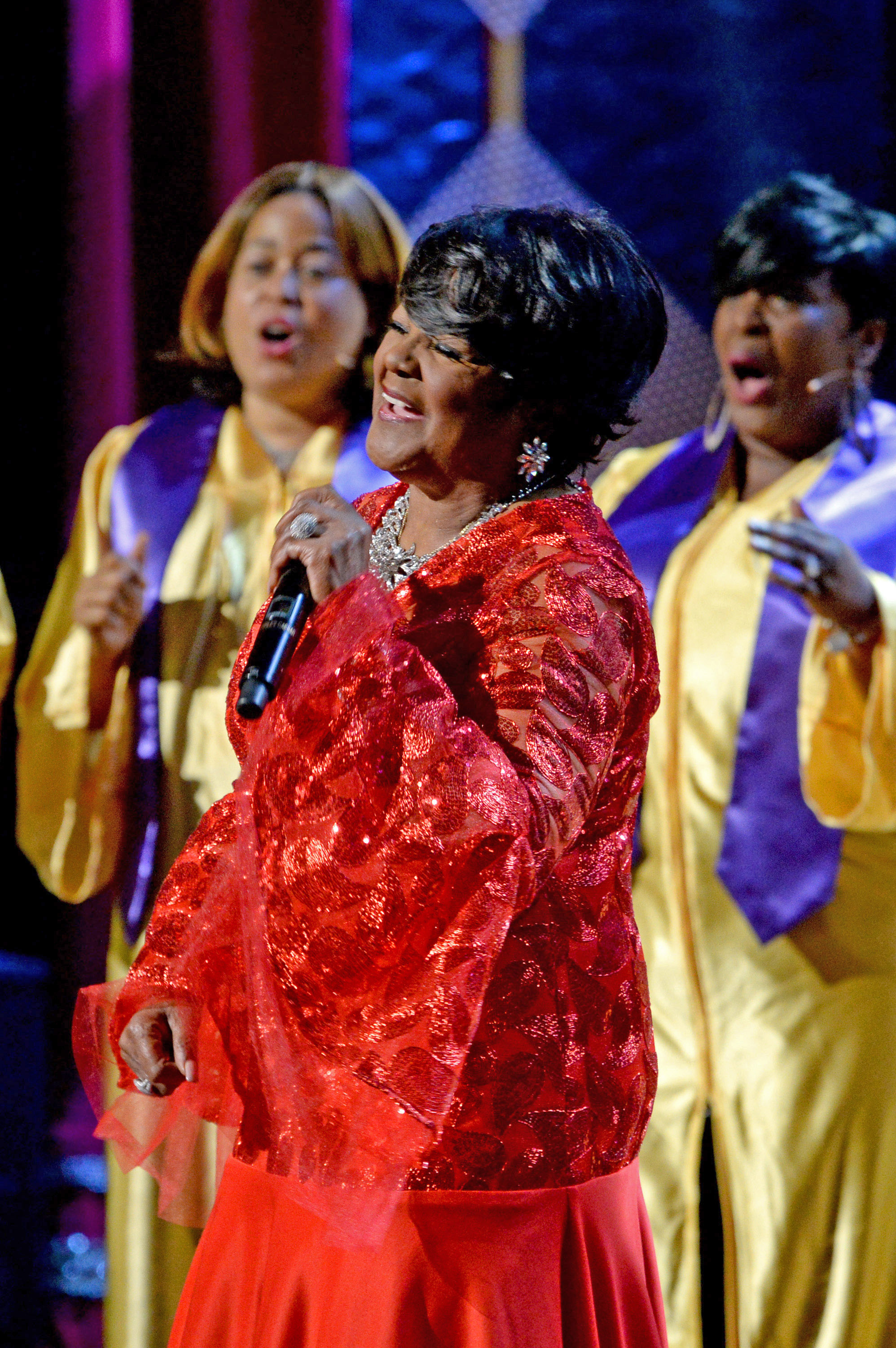 Shirley Caesar performs onstage during the GRAMMY Salute to Music Legends at Beacon Theatre in New York City.