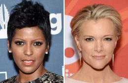 Tamron Hall (L) and Megyn Kelly