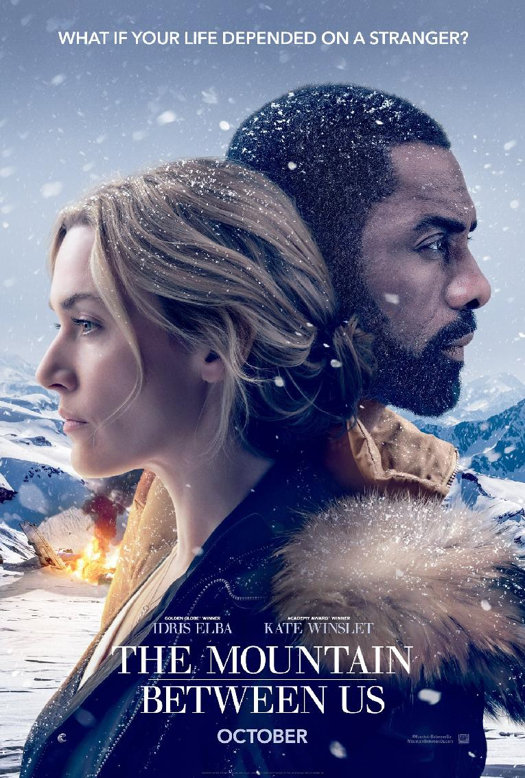 the mountain beteen us - poster