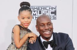 tyrese & daughter shayla
