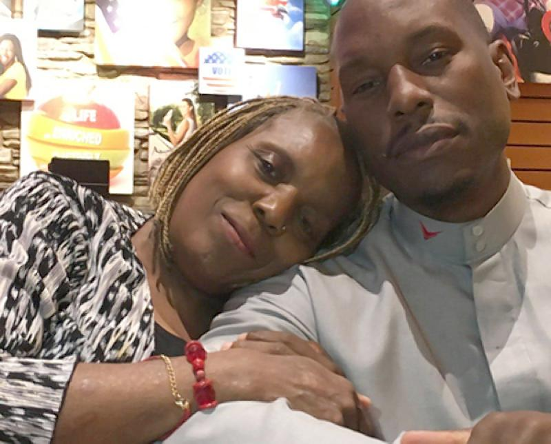 tyrese & mom priscilla murray gibson