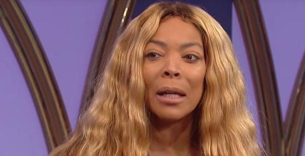 wendy williams - long stringy blonde hair