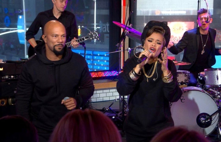 """Common and Andra Day perform on """"GMA"""" (ABC News)"""