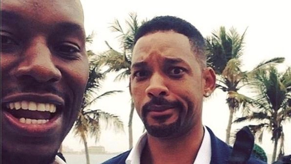 Tyrese and Will Smith (Instagram)