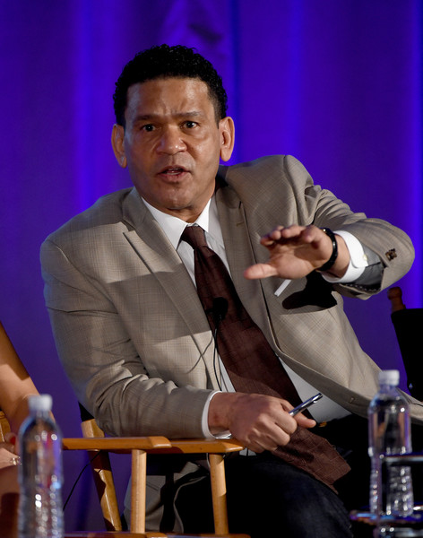 Executive producer Benny Medina of 'World Of Dance' speaks onstage during the 2017 NBCUniversal Summer Press Day at The Beverly Hilton Hotel on March 20, 2017 in Beverly Hills, California.