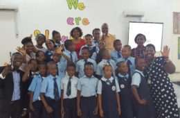 Child Of Promise school - TAYO's cartoon workshop session - Students