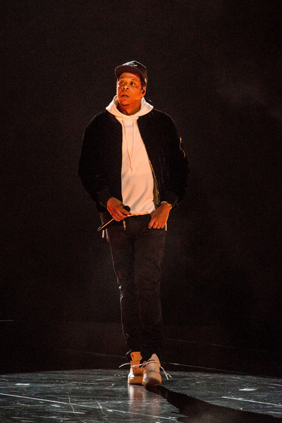 JAY-Z performs at Honda Center on October 27, 2017 in Anaheim, California.