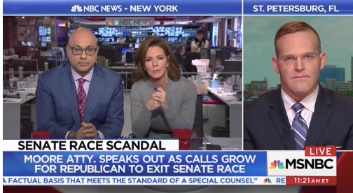 Watch Roy Moore's Lawyer Give A Train Wreck Interview On MSNBC