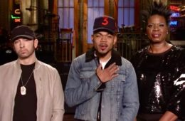 Eminem, Chance the Rapper and Leslie Jones (Saturday Night Live)