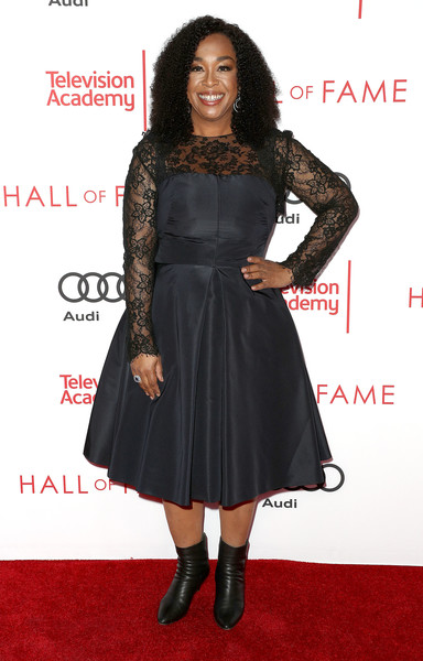 Producer Shonda Rhimes attends the Television Academy's 24th Hall of Fame Ceremony at the Saban Media Center on November 15, 2017 in North Hollywood, California.