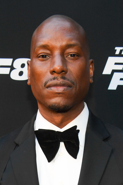 "Tyrese Gibson attends ""The Fate Of The Furious"" Atlanta red carpet screening at SCADshow on April 4, 2017 in Atlanta, Georgia."