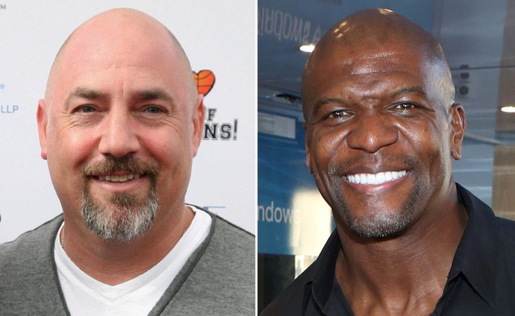 Adam Venit and Terry Crews