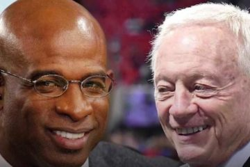 deion sanders & jerry jones