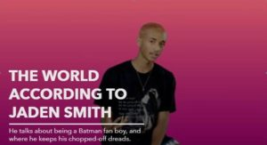 jaden smith - the world according to