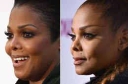 janet jackson (new nose & old nose)