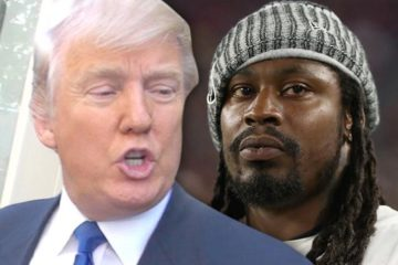 donaldtrump - marshawnlynch