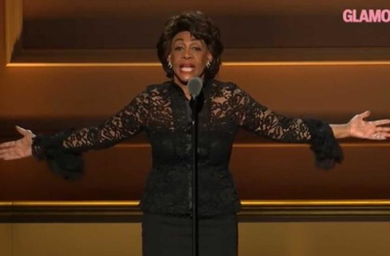 maxine waters - glamour awards