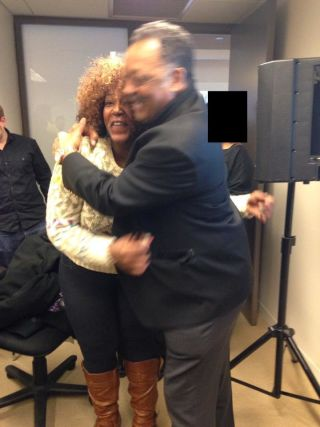 Danielle Young and Jesse Jackson (Danielle Young/The Root)
