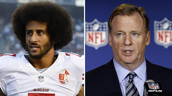 Conflicting reports of colin kaepernicks invite to meet one on one colin kaepernick has reportedly been invited to meet with nfl commissioner roger goodell one on one but there are conflicting reports on whether the m4hsunfo