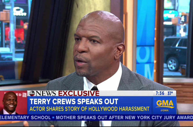 Terry Crews recounts alleged sexual assault: 'I have never felt more emasculated'