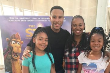 star - Brooklyn & Madison Ayers, Robin Ayers and Devon Franklin1