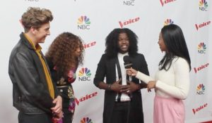 On the Red Carpet at The Voice with Top 12 (EUR Exclusive – Watch!)