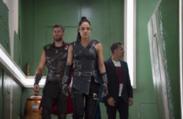 Thor - Chris Hemsworth, Tessa Thompson, and Mark Ruffalo