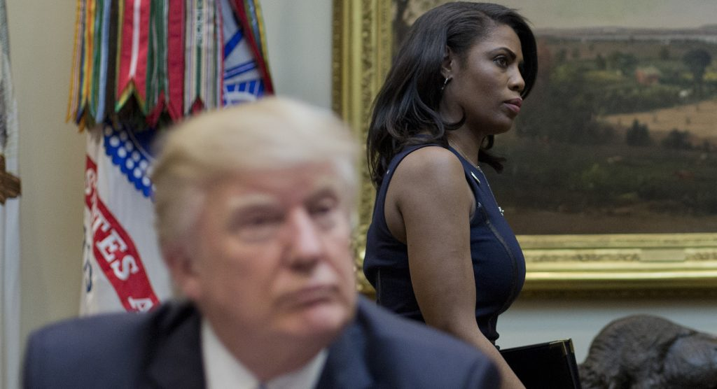 You're fired: White House apprentice Omarosa Manigault Newman shown the door