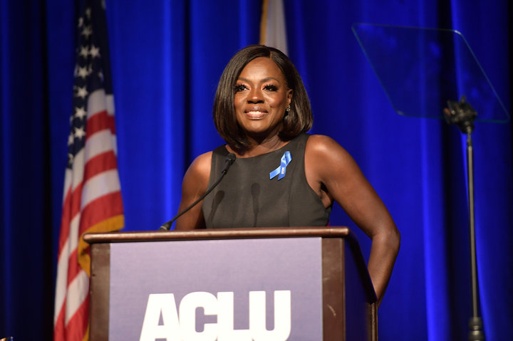 Honoree Viola Davis speaks onstage at ACLU SoCal Hosts Annual Bill of Rights Dinner at the Beverly Wilshire Four Seasons Hotel on December 3, 2017 in Beverly Hills, California.