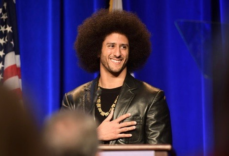 Colin Kaepernick Rare Appearance at Awards Show 'Human Rights Can't Be Compromised'