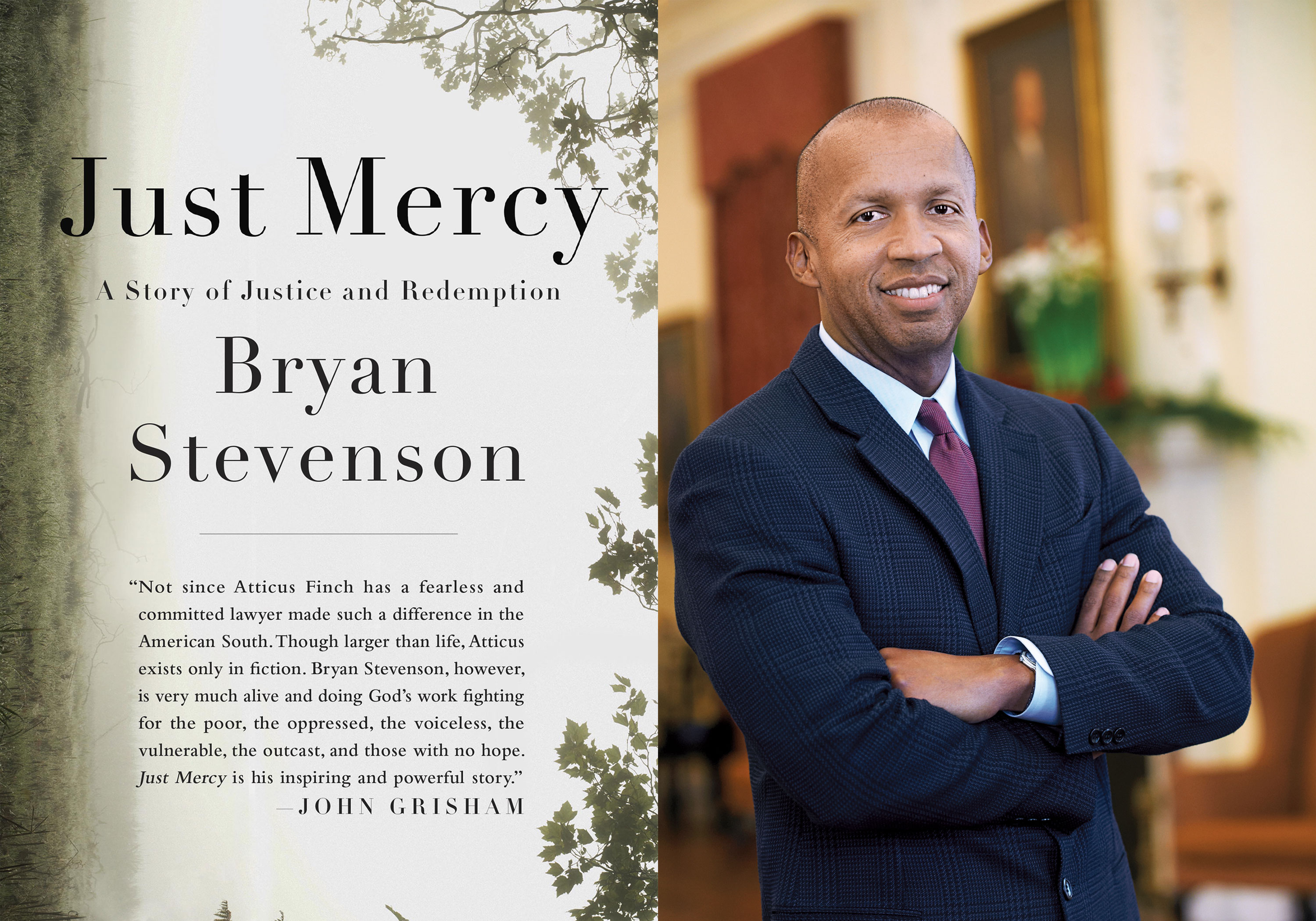 Bryan Stevenson – Just Mercy: A Story of Justice and Redemption - Roosevelt House Public Policy Institute at Hunter College