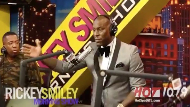 Tyrese rants about ex-wife Norma Gibson (Ricky Smiley Morning Show)