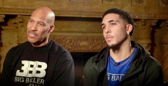 """LaVar and LiAngelo Ball on """"Today"""" (Dec. 5, 2017)"""