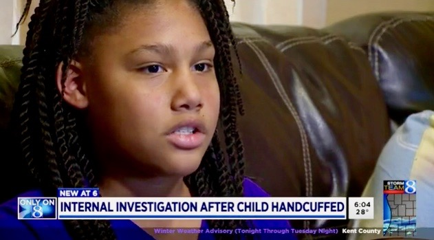 11-year-old girl handcuffed, arrested at gunpoint in MI