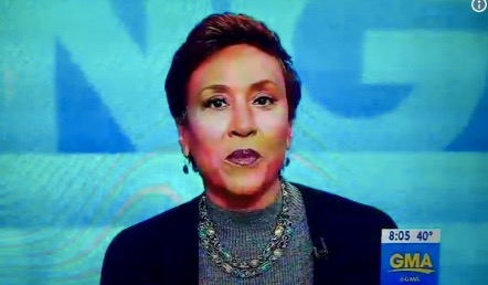 "Robin Roberts on ""Good Morning America"" (Dec 14, 2017)"