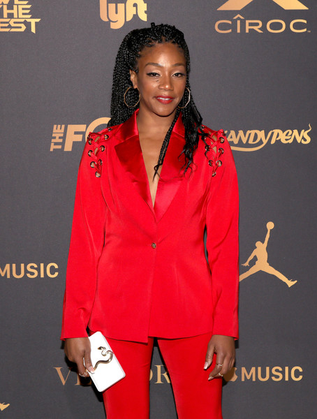 Tiffany Haddish attends The Four cast Sean Diddy Combs, Fergie, and Meghan Trainor Host DJ Khaled's Birthday Presented by CÎROC and Fox on December 2, 2017 in Beverly Hills, California.