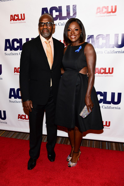 Honoree Viola Davis (R) and Julius Tennon attend ACLU SoCal Hosts Annual Bill of Rights Dinner at the Beverly Wilshire Four Seasons Hotel on December 3, 2017 in Beverly Hills, California.