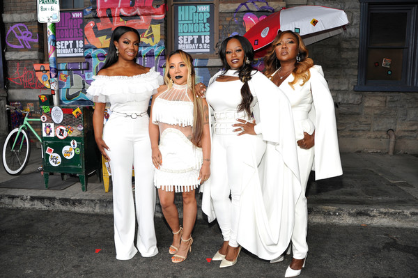 XSCAPE attends VH1 Hip Hop Honors: The 90s Game Changers at Paramount Studios on September 17, 2017 in Los Angeles, California.