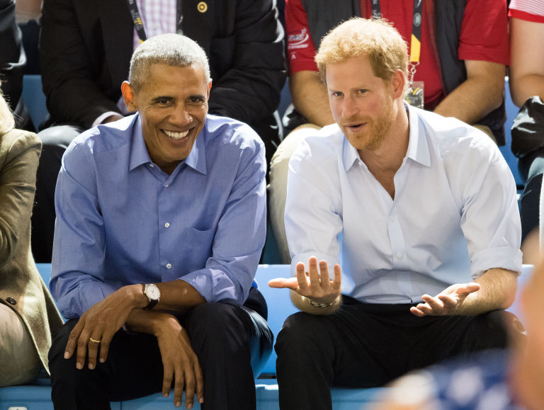 Barack Obama, Prince Harry at the 2017 Invictus Games in Toronto