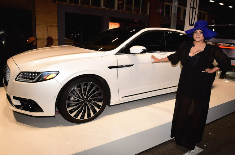 Lincoln Marsha Ambrosius Join To Debut Stylish New Lincoln Nautilus