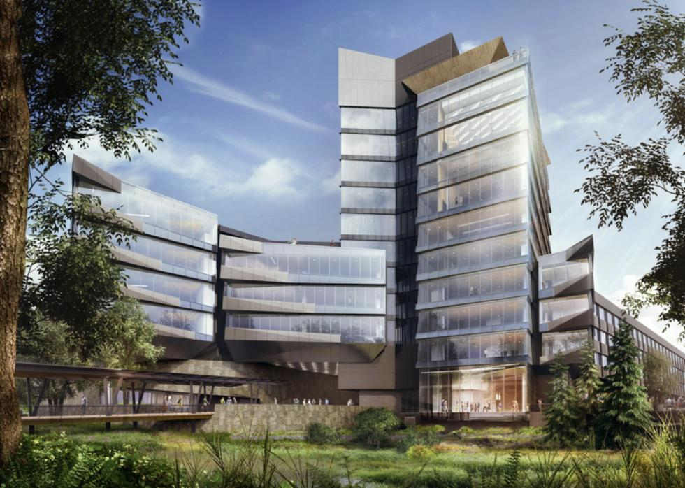 Rendering of the Serena Williams Building, slated for completion in 2019. (Nike)