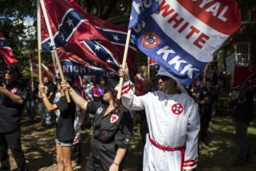 white supremacists - kkk