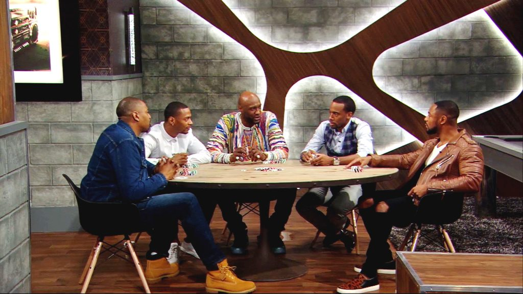 Man Cave Show Tank : Stars of bet s mancave calls series therapy aimed to